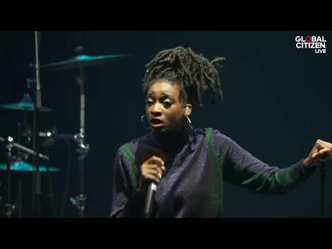 Little Simz Performs 'Backseat'   Global Citizen Live in Brixton 2018