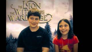 Meet the Cast of The Lion, The Witch, and The Wardrobe Part 5