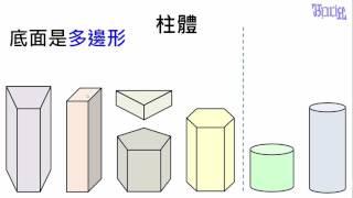 國小數學教學 - 柱體和錐體
