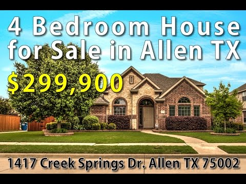 4 Bedroom House for Sale in Allen TX Open House 4/18/2015 2-4PM