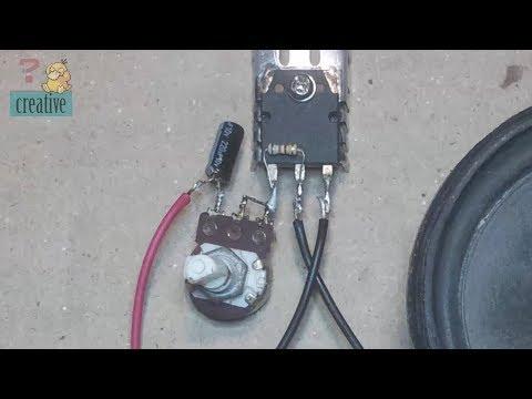 Use potentiometer as volume audio
