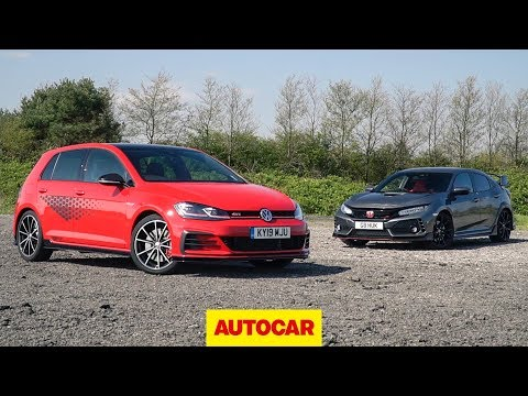 Track battle: 2019 VW Golf GTI TCR vs Honda Civic Type R | Autocar