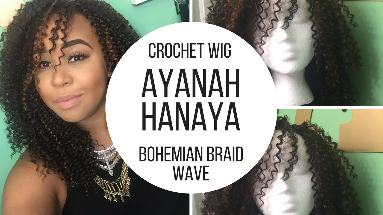 Crochet wig using Bohemian Braid by Freetress