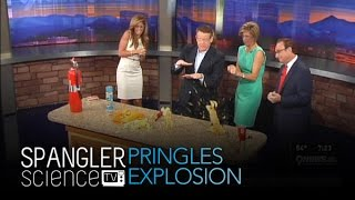 Pringles Explosion - Cool Science Experiment