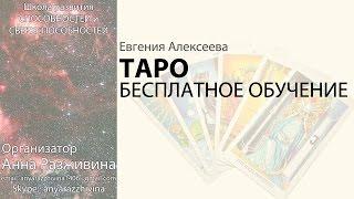 БЕСПЛАТНОЕ обучение ТАРО для начинающих Евгения Алексеева
