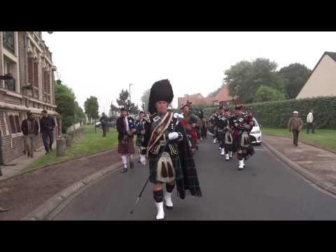 Cérémonie du 6 juin 2016 : Scotland The Brave - The Rowan Tree