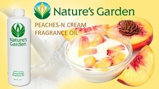 Peaches-N-Cream Fragrance Oil- Natures Garden
