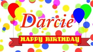 Happy Birthday Darcie Song