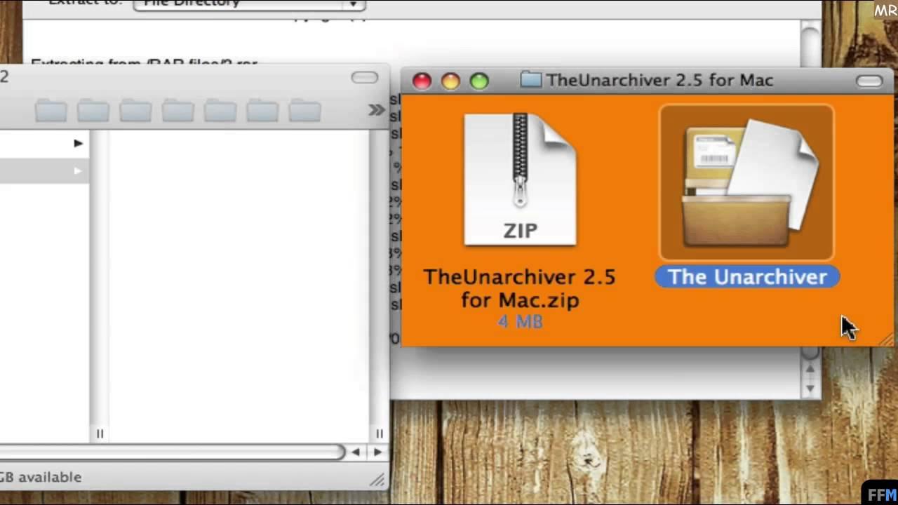 Unarchiver, UnRarX & Damaged RAR file on Mac-MR