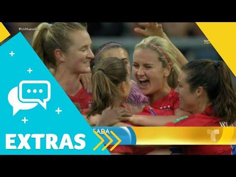 Critican a las jugadoras de EEUU por celebrar sus goles | Un Nuevo Día | Telemundo