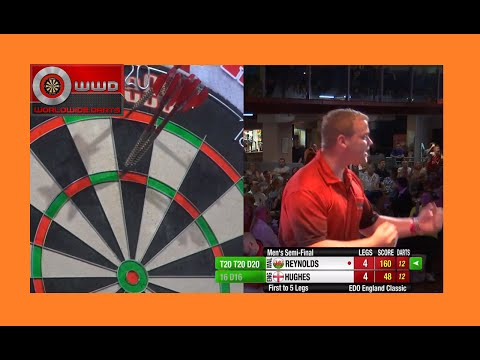 Dean Reynolds - Amazing 160 Checkout To Progress Into Finals