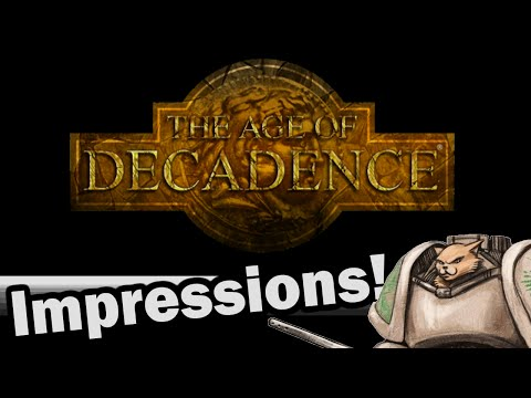 Age of Decadence Impressions - Weekly Indie Newcomer!