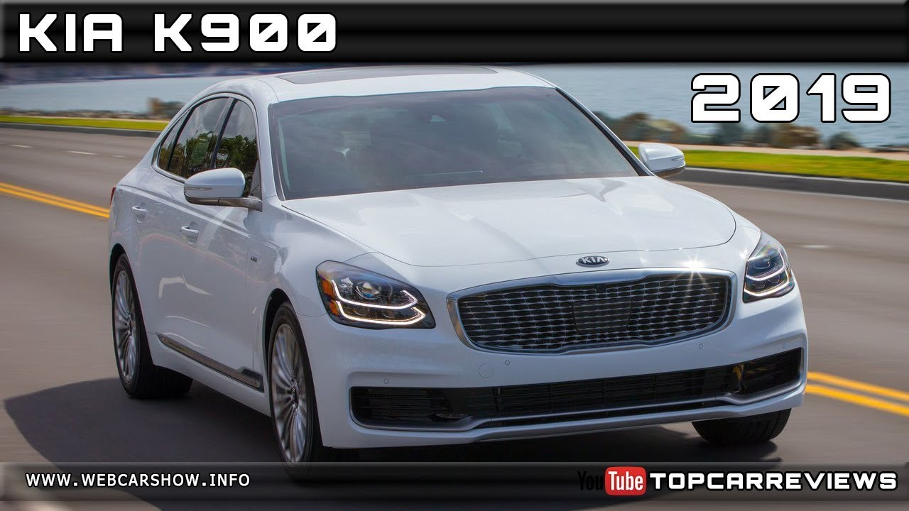 2019 Kia K900 Review Rendered Price Specs Release Date Youtube