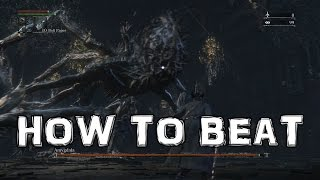 Bloodborne: How to Beat Amygdala BOSS (Defiled Chalice Dungeon)