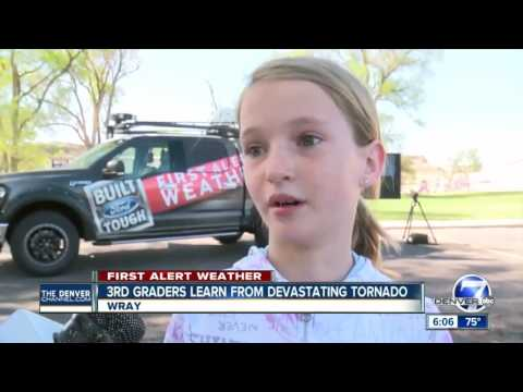 Tornado Pic Inspires Day of Learning at Wray Elementary School in Colorado
