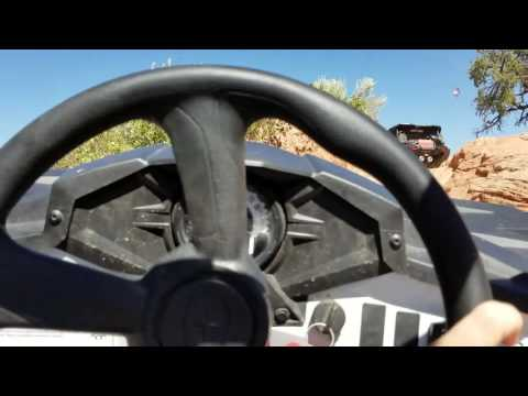 Extreme! Riding Side by Side on Hog Canyon OHV Trail - Kanab, UT