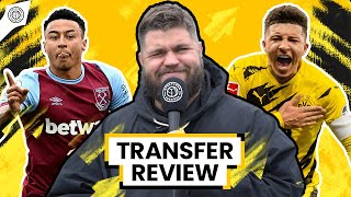 Sancho & Lingard Swap Deal INBOUND?! | Transfer Review w/ Stephen Howson