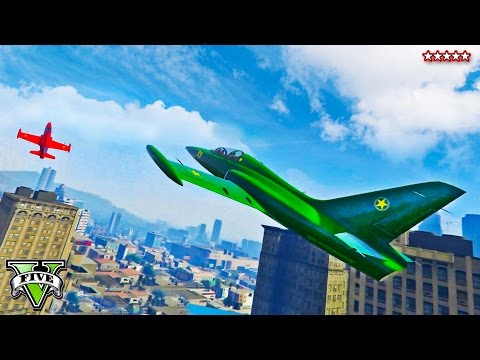 GTA 5 First Person JET STUNT RACE | Flying Under Bridges and Around Buildings | GTA V Funny Moments