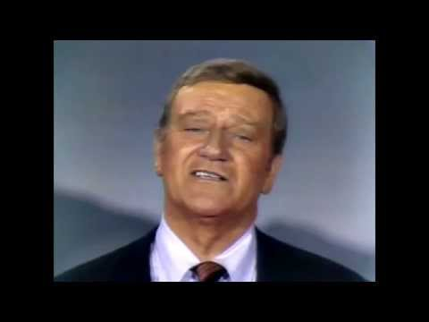 John Wayne 1970 Variety Show Celebrating Americas History
