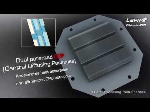 LEPA EXllusion 240 - CPU Liquid Cooling