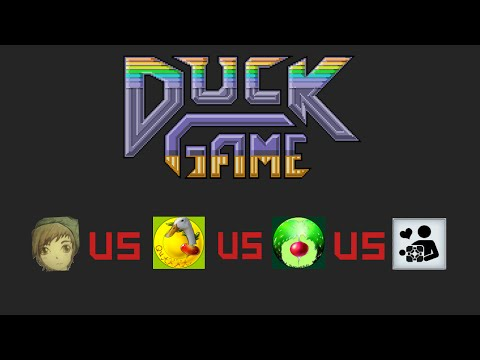 [9] A Game of Quacks | Airradda Plays Duck Game w/ Krakka and Friends | To All My Fans