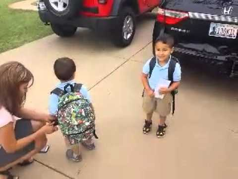 First Day at Celebrations Preschool