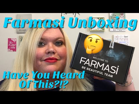Farmasi Makeup Unboxing   Where Did This Come From?