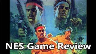 Ikari warriors nes review - the no swear gamer ep 242