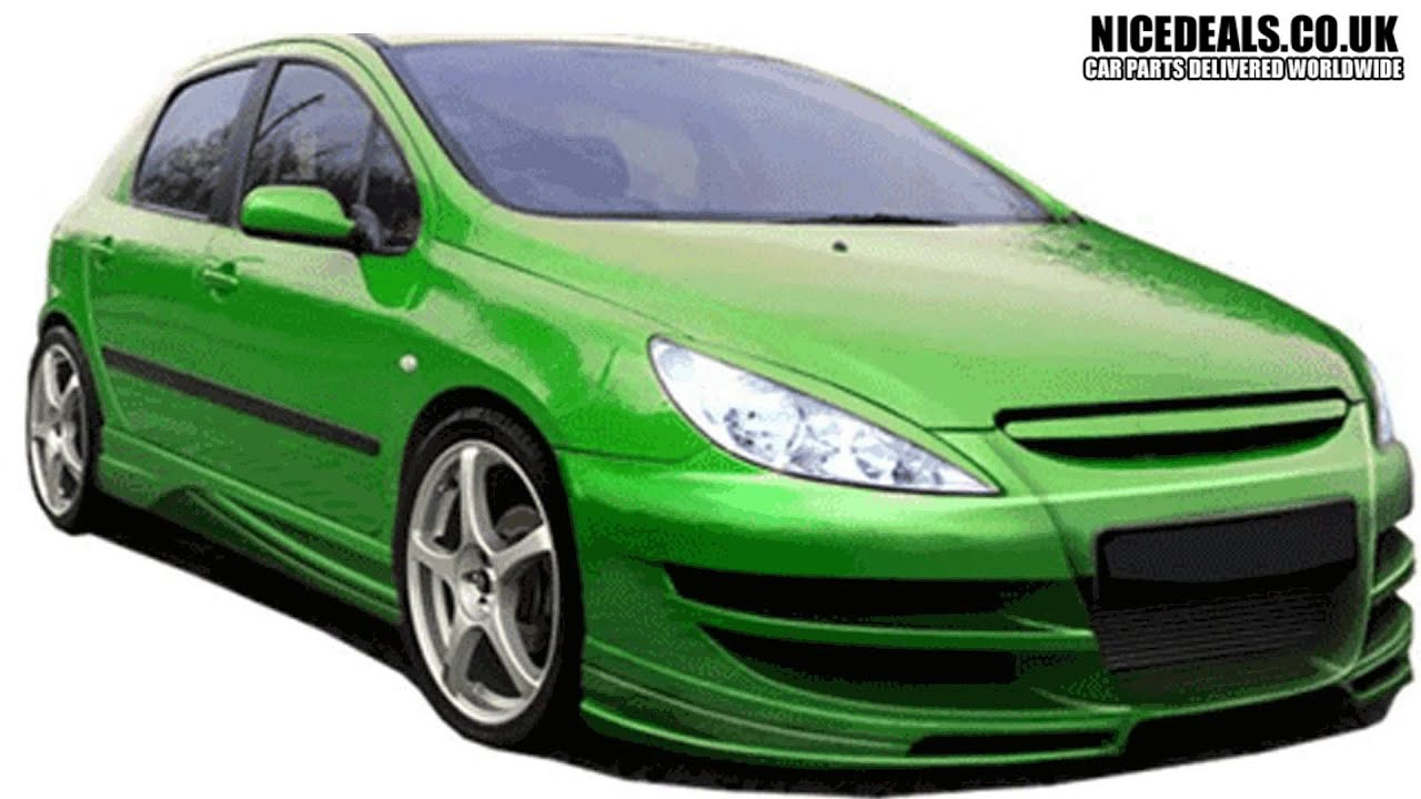 Peugeot 307 Body Kits Sports Bumpers Fenders Wings