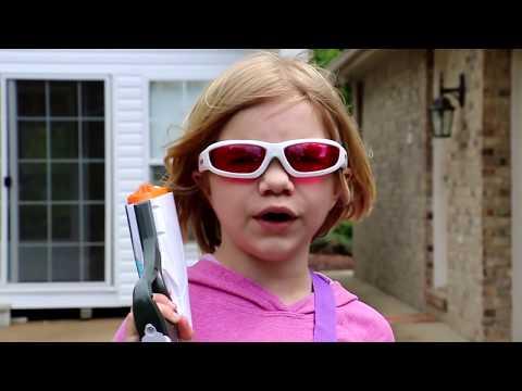 Nerf War:  Boys vs Girls