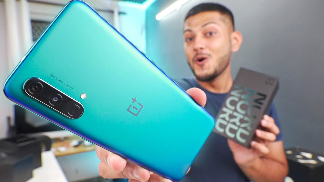OnePlus Nord CE 5G Unboxing and Quick Look - Midrange Magic !