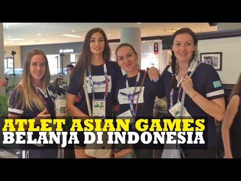 Yuk Intip Keseruan Atlet Asian Games 2018 Yang Belanja Di Indonesia