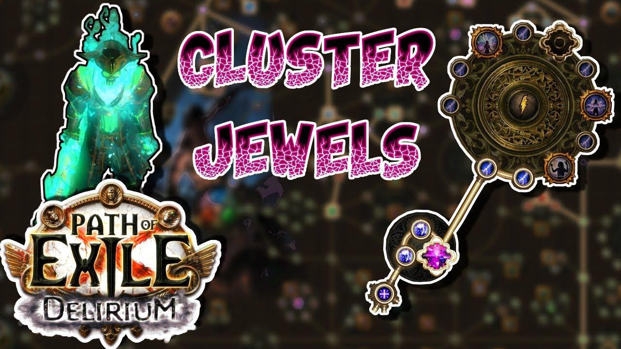 Newbie hiểu về Cluster Jewel | Delirium League | Path of Exile | Pyrelics Gaming