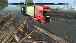 """Мастерство вождения в """"Scania Truck Driving Simulator"""" - Наводнение"""