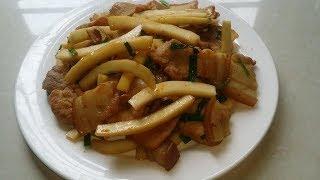 Cách nấu món thịt kho cùi dừa bùi thơm ngon!