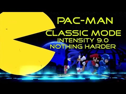 Super Smash Bros. For Wii U - Pac-Man - Classic Mode 9.0 Nothing Harder