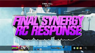 @Bughso - Final Synergy Summer RC Response #SSRC