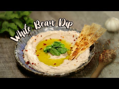 Garlic White Bean Dip Recipe   Healthy White Bean Dip   Joos Food