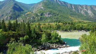Вот чем отличается ГОРНАЯ РЫБАЛКА от рыбалки на равнинах Катунь и хариус реки Кадрин Алтай и рафтинг