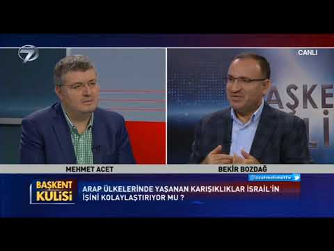 Bekir Bozdağ, Kanal 7 ekranlarında gündeme ilişkin soruları cevapladı