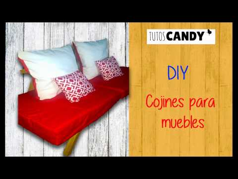 Diy Cojines.How To Diy Cojines Para Muebles New Diy Projects