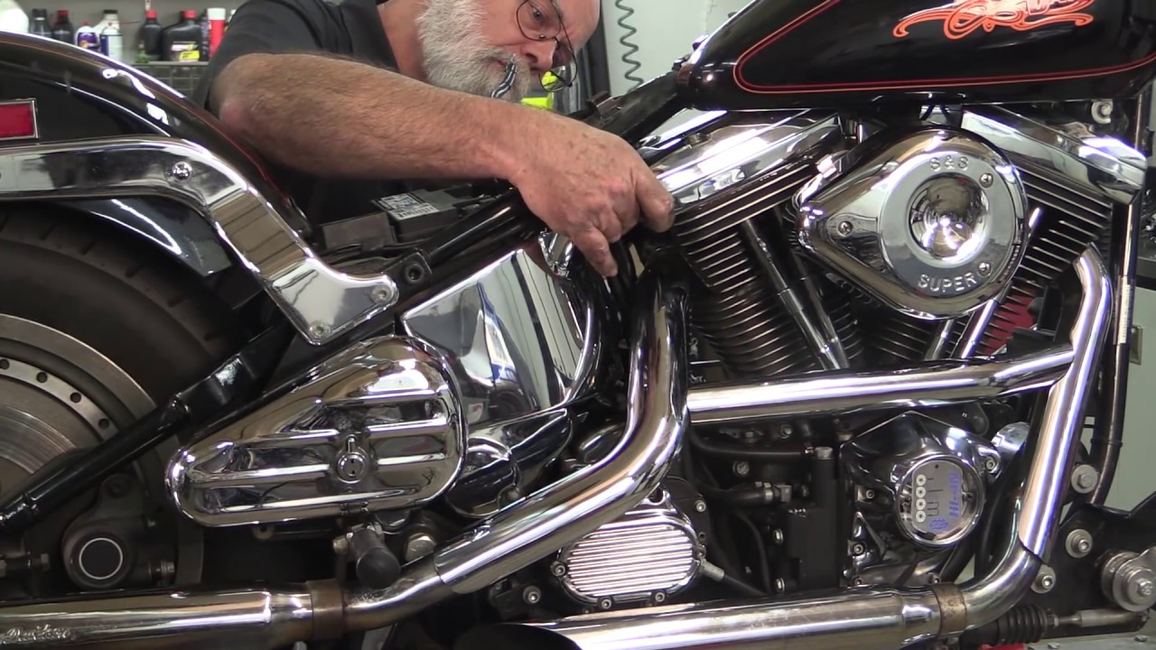 Installing The Ss Hi 4n Ignition Youtube 1978 Shovelhead Fxe Wiring Diagram