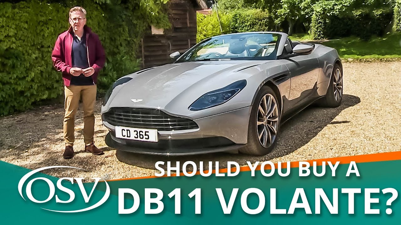 Aston Martin Db11 Volante 2020 Should You Buy One Youtube