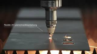 TRUMPF 3D-Laserbearbeitung: TruLaser Cell 5030 – Flexible und produktive Maschine für große Bauteile