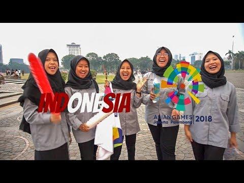 Sebulan Menjelang Asian Games 2018   Seru-seruan Di Monas