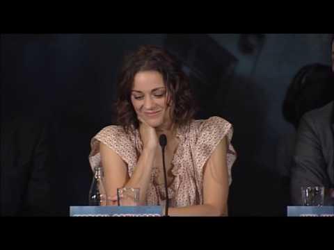 "Leonardo DiCaprio on Marion Cotillard: ""She's a National Treasure"""