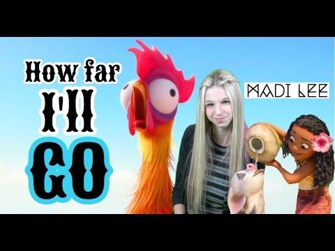 """Disney's Moana """"How Far I'll Go"""" - Auli'i Cravalho/Alessia Cara cover by Madi Lee"""