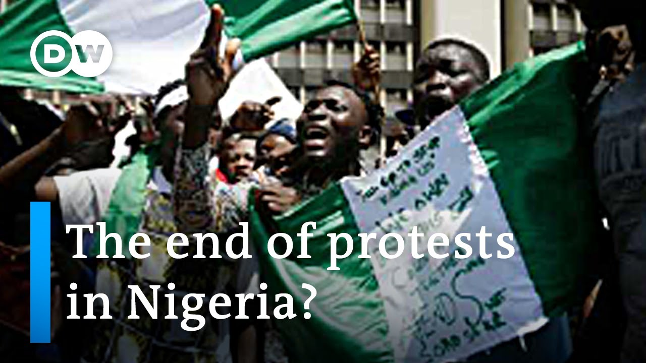 Buhari calls for end to police brutality protests in Nigeria | DW News
