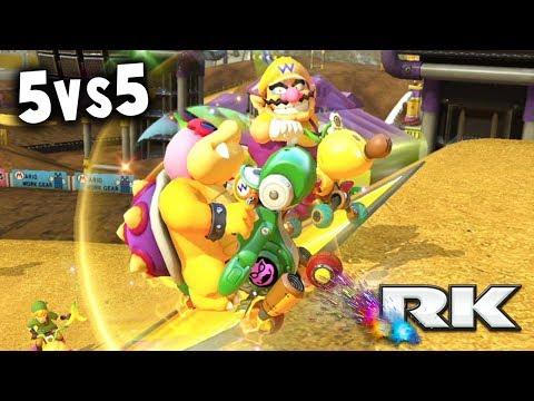 MARIO KART 8 DELUXE COMPETITIVO: RK vs TT | 5vs5 CLAN WAR AMISTOSA | Nintendo Switch