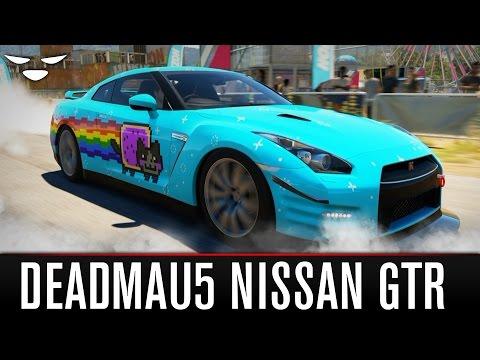 "Forza Horizon 2 Design | ""OMFGtr"" deadmau5 Nissan GTR"